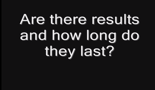 Are there results and how long do they last?